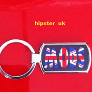 Mods Union Jack Keyring